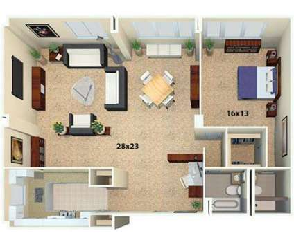 1 Bed - Flamingo South Beach North and South Towers at 1508 Bay Road in Miami Beach FL is a Apartment