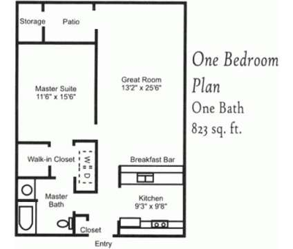 1 Bed - Northstone Apartments at 4021 Northstone Dr in Raleigh NC is a Apartment