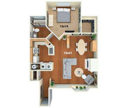 1 Bed - Township at Highlands Apartments & Townhomes at 901 East Phillips Ln in Centennial CO is a Apartment