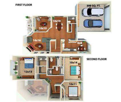 4 Beds - Township at Highlands Apartments & Townhomes at 901 East Phillips Ln in Centennial CO is a Apartment