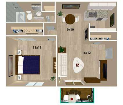 1 Bed - Hunters Glen Apartments at 1109 Hunters Glen Dr in Plainsboro NJ is a Apartment