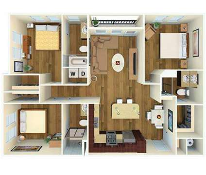3 Beds - 21 Fitzsimons Apartment Homes at 2100 N Ursula St in Aurora CO is a Apartment