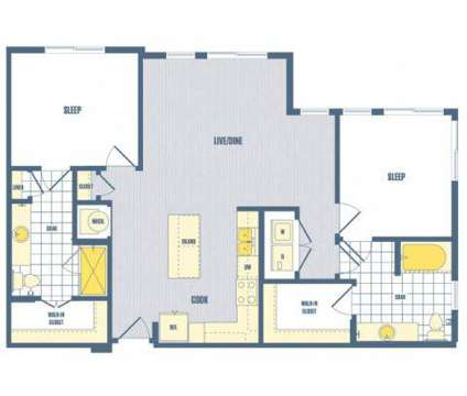 2 Beds - Ascend Apollo at 9400 Grand Blvd in Largo MD is a Apartment