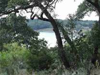 Waterfront/Lakeview lot at back of cove. Beautiful level lot with nice Oak