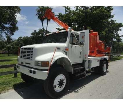 1998 International 4800 Altec CH7 Pressure Digger is a 1998 International Other Commercial Truck in Miami FL