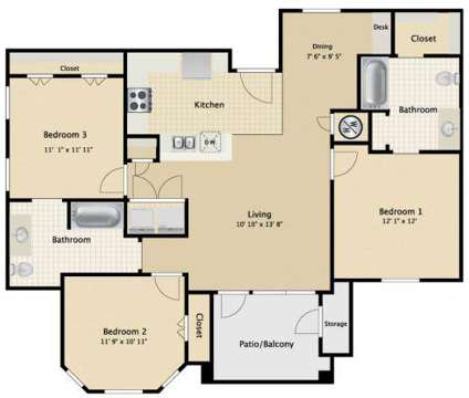 3 Beds - The Colony at 4109 John Stockbauer Drive in Victoria TX is a Apartment
