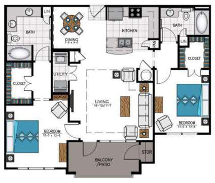2 Beds - The Heights at Sugarloaf at 2370 Chattahoochee Drive Sw in Duluth GA is a Apartment