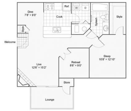 1 Bed - The Township Apartment Homes at 400 Ne 103rd St in Kansas City MO is a Apartment