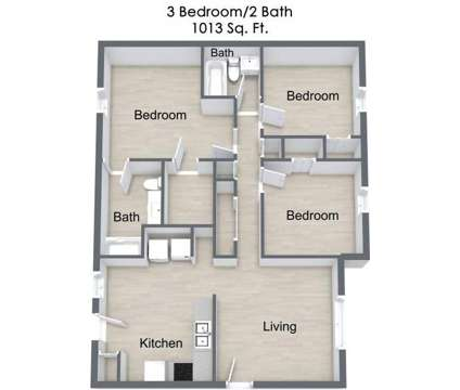 3 Beds - Landon Trace Townhomes at 1813 Buchanan Bay Cir in Orlando FL is a Apartment