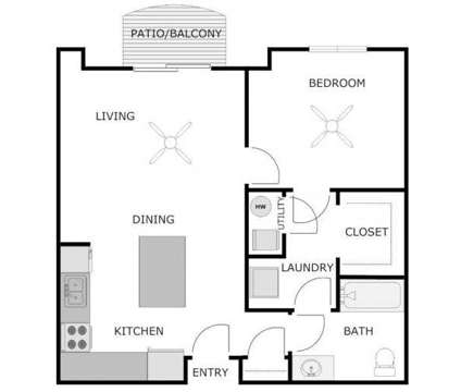 1 Bed - Gateway Luxury Apartments at 115 Silver Lake Plaza in Oconomowoc WI is a Apartment
