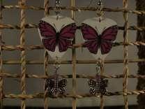 Butterfly Guitar Pick Earrings