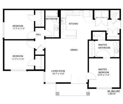 3 Beds - Granite 550 at 550 Granite Peak Dr in Casper WY is a Apartment