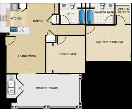 2 Beds - Meadow Square Apartment Homes at 7550 Desert Holly St in Chino CA is a Apartment