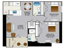 2 Beds - Pilot House Apartments