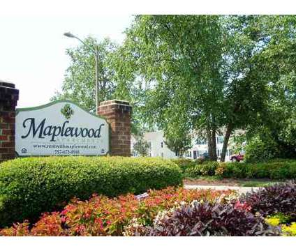 2 Beds - Maplewood Apartments at 3824 Maplefield Dr in Chesapeake VA is a Apartment