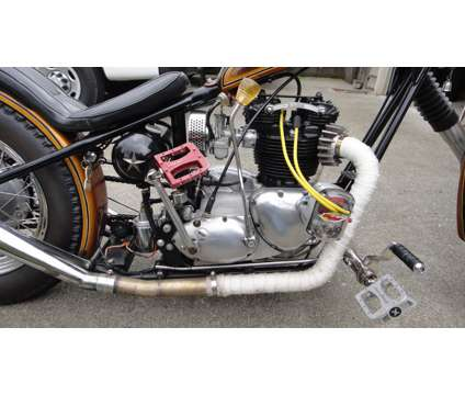 1973 Triumph Tiger 750 Custom Chopper is a 1973 Triumph Tiger Custom Motorcycle in Edmonds WA