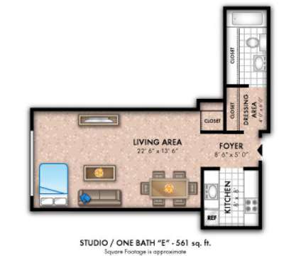 Studio - Westminster Towers Apartment Homes at 1341 North Avenue  801 North Bro in Elizabeth NJ is a Apartment