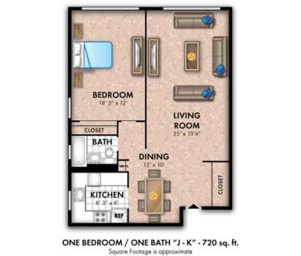 1 Bed - Westminster Towers Apartment Homes at 1341 North Avenue  801 North Bro in Elizabeth NJ is a Apartment
