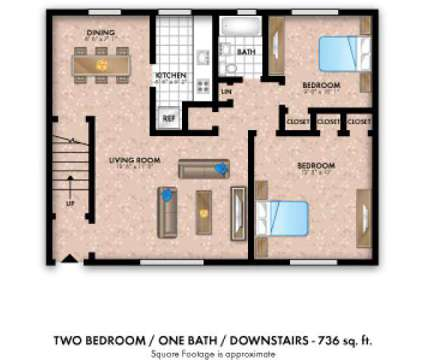 2 Beds - Elmwood Village Apartments & Townhomes at 24 Blvd in Elmwood Park NJ is a Apartment