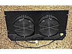 """Double 7"""" Fan Rack Cooling Panel. High Volume!"""