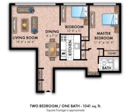 2 Beds - Westminster Towers Apartment Homes at 1341 North Avenue  801 North Broad St in Elizabeth NJ is a Apartment
