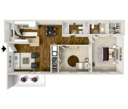 2 Beds - Parklane at 1210 Parklane Drive in Mccomb MS is a Apartment