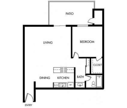 1 Bed - Shadow Creek at 2474 S Bascom Avenue in Campbell CA is a Apartment