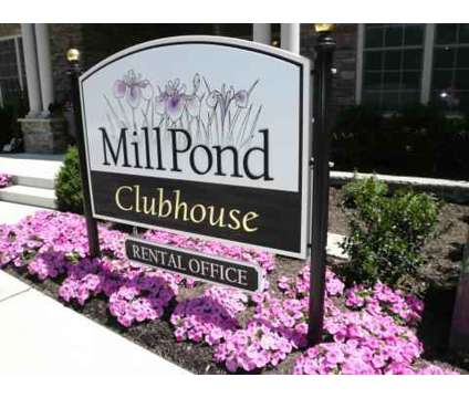 1 Bed - MillPond at Franklin Lakes at 741 Old Mill Road in Franklin Lakes NJ is a Apartment