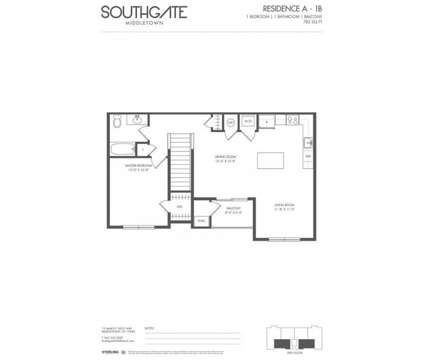 1 Bed - Southgate Middletown at Leasing Office Located At 15 James P Kelly Way in Middletown NY is a Apartment