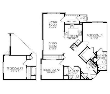 2 Beds - Riverbend East at Beacon Ln in Wappingers Falls NY is a Apartment