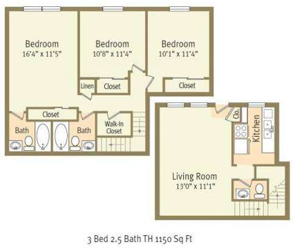 3 Beds - Colonial Apartments at 400 Burlingate Dr in Greensboro NC is a Apartment