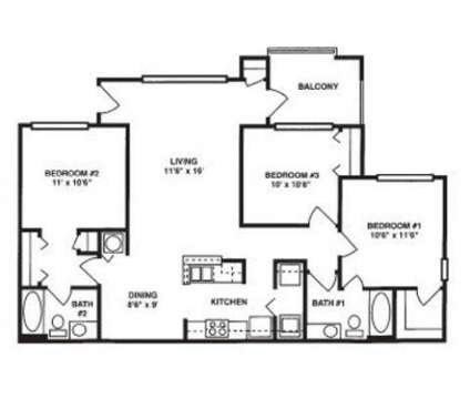 3 Beds - The Villages of Castleberry Hills at 600 Greensferry Ave in Atlanta GA is a Apartment