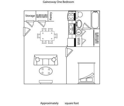 1 Bed - Gainesway Village Apartments at 1245 Center Parkway in Lexington KY is a Apartment