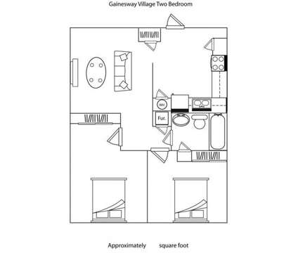 2 Beds - Gainesway Village Apartments at 1245 Center Parkway in Lexington KY is a Apartment