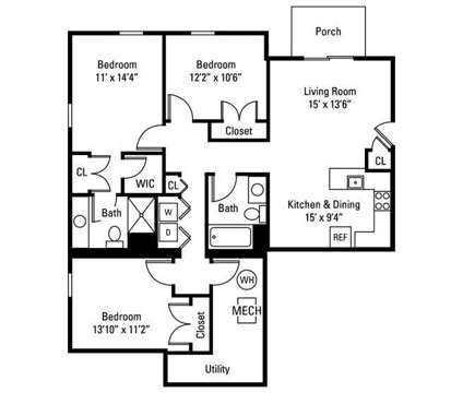 3 Beds - Reserve at Southpointe at 1000 Meadow Ln in Canonsburg PA is a Apartment
