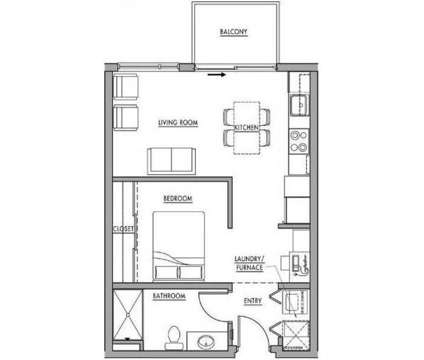 Studio - Dwell Bay View at 2440 S Kinnickinnic Avenue in Bay View WI is a Apartment