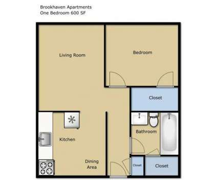 1 Bed - Brookhaven Apartments at 147 Malabu Dr #2b in Lexington KY is a Apartment