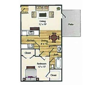 1 Bed - The Element Apartments at 400 Greens Road in Houston TX is a Apartment