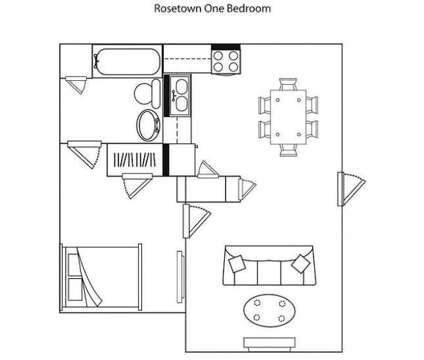 1 Bed - Rosetown Apartments at 320 Elm Tree Ln in Lexington KY is a Apartment