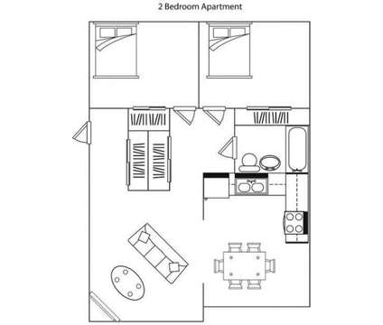 2 Beds - Rosetown Apartments at 320 Elm Tree Ln in Lexington KY is a Apartment