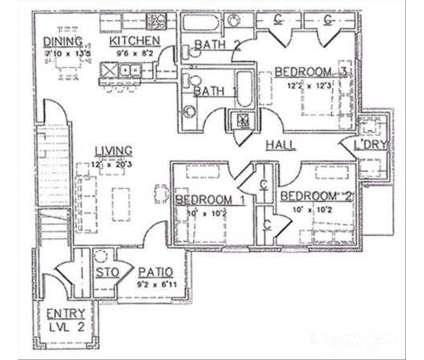 3 Beds - Brookstone Park at 5050 28th St in Gulfport MS is a Apartment