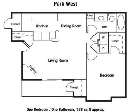 1 Bed - Park West at 10901 Jaynes Plaza in Omaha NE is a Apartment