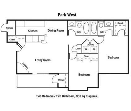 2 Beds - Park West at 10901 Jaynes Plaza in Omaha NE is a Apartment