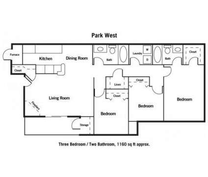 3 Beds - Park West at 10901 Jaynes Plaza in Omaha NE is a Apartment