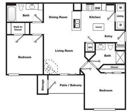 2 Beds - Turnberry Place Apartments at 100 Turnberry Place in Saint Peters MO is a Apartment