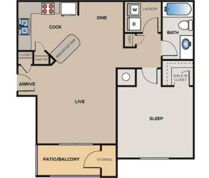 1 Bed - The Landing at Acworth at 4710 Baker Grove Rd in Acworth GA is a Apartment