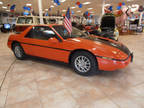1987 Pontiac Fiero Orange