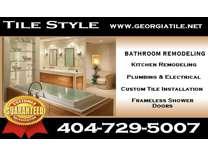 Bathroom Remodeling in Atlanta Ga, Tile & Stone Installation