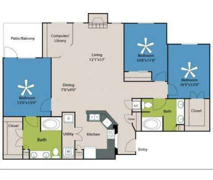 3 Beds - Bridges on Eldridge at 2250 Eldridge Parkway in Houston TX is a Apartment