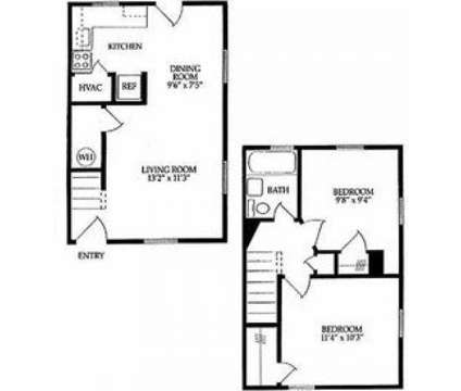 2 Beds - Cottage Grove Apartment Homes at 614 Peninsula Dr in Newport News VA is a Apartment